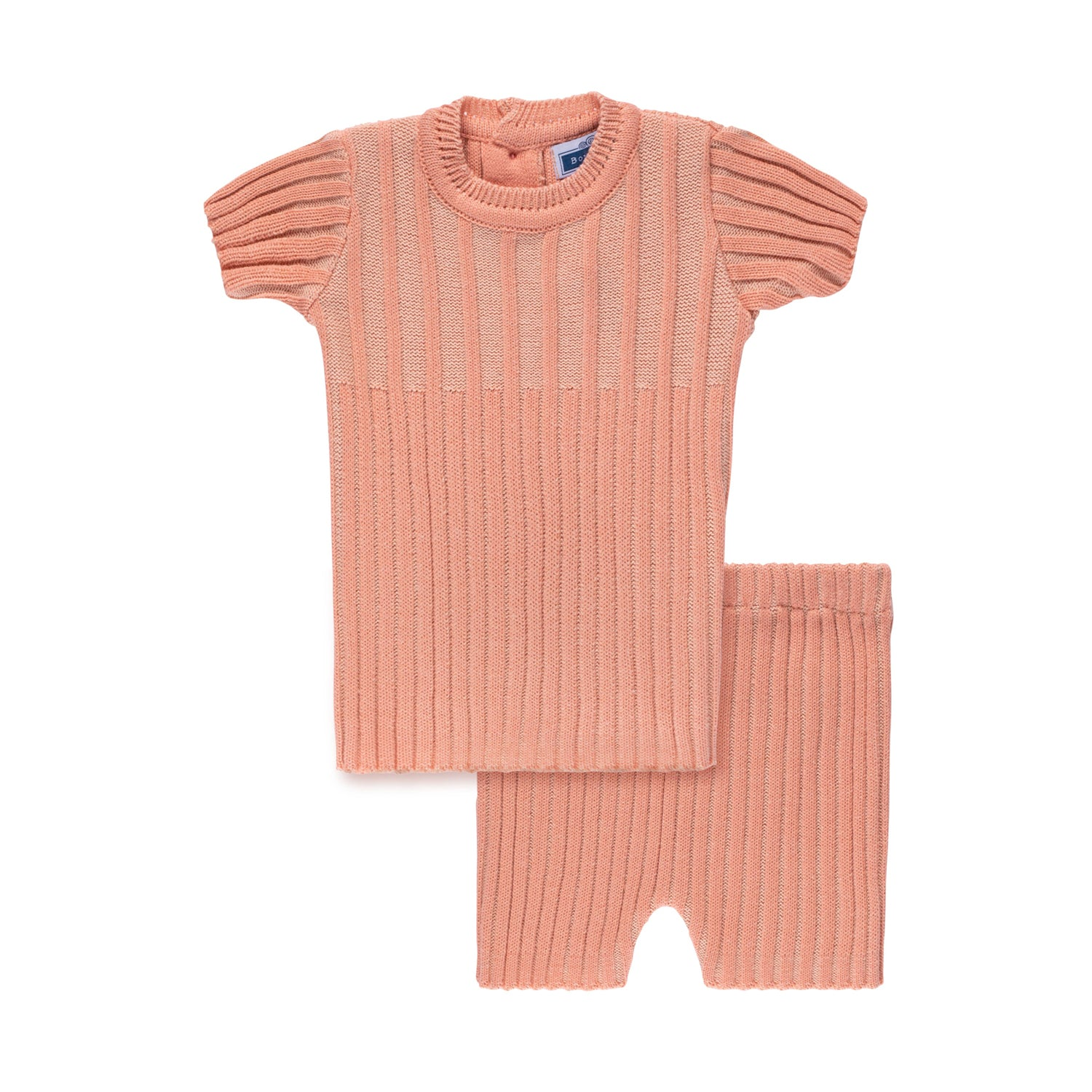 Ribbed Set ~ Apricot