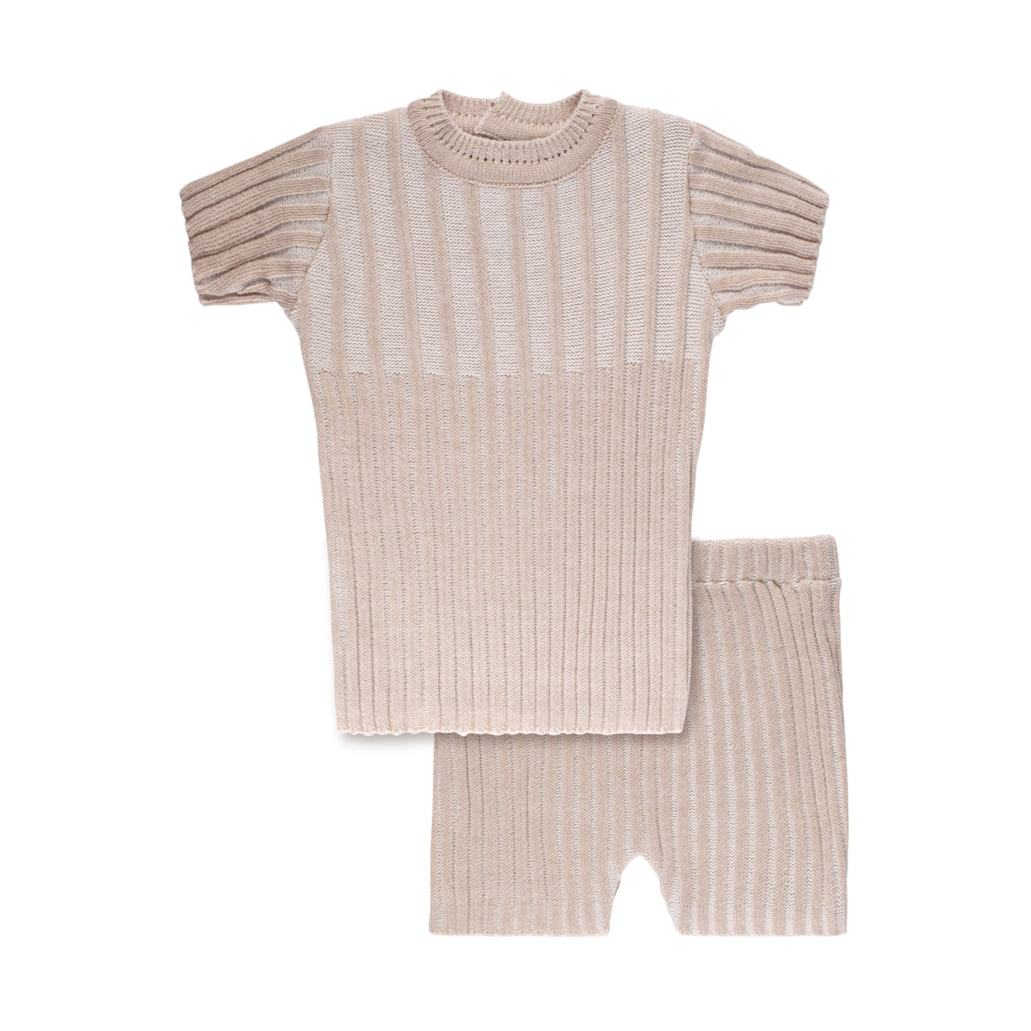 Ribbed Set ~ Taupe
