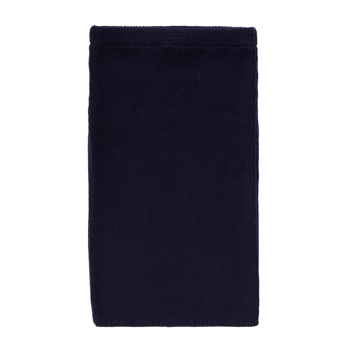Knit Ribbed Pencil Skirt ~ Navy