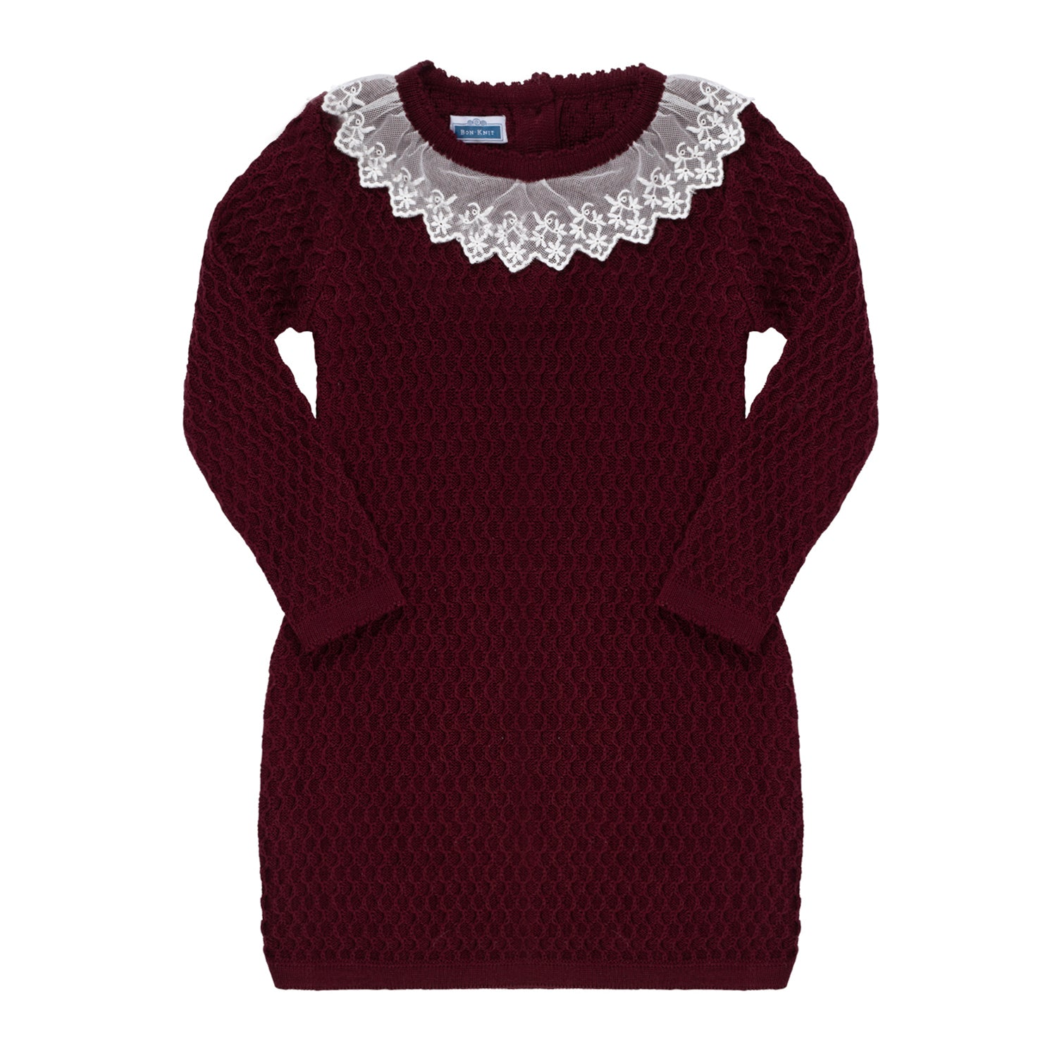Melanie Dress ~ Burgundy