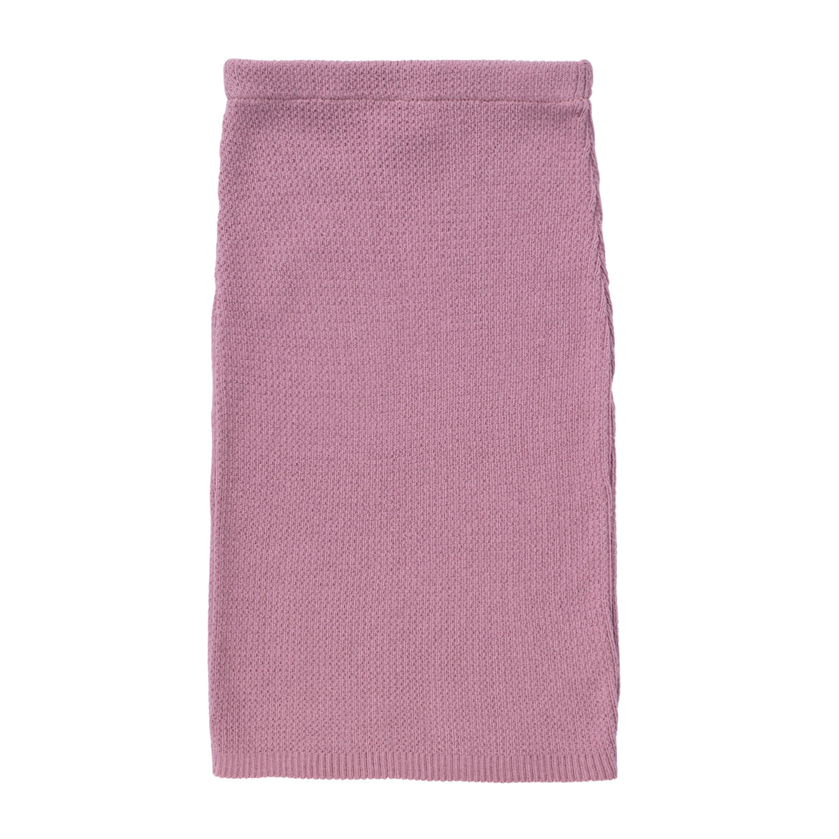 Knit Ribbed Pencil Skirt ~ Lavender