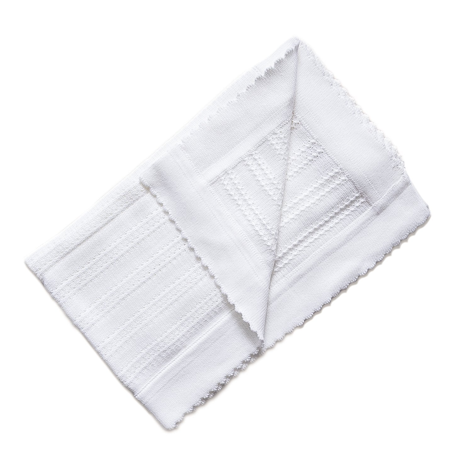 James Blanket ~ White