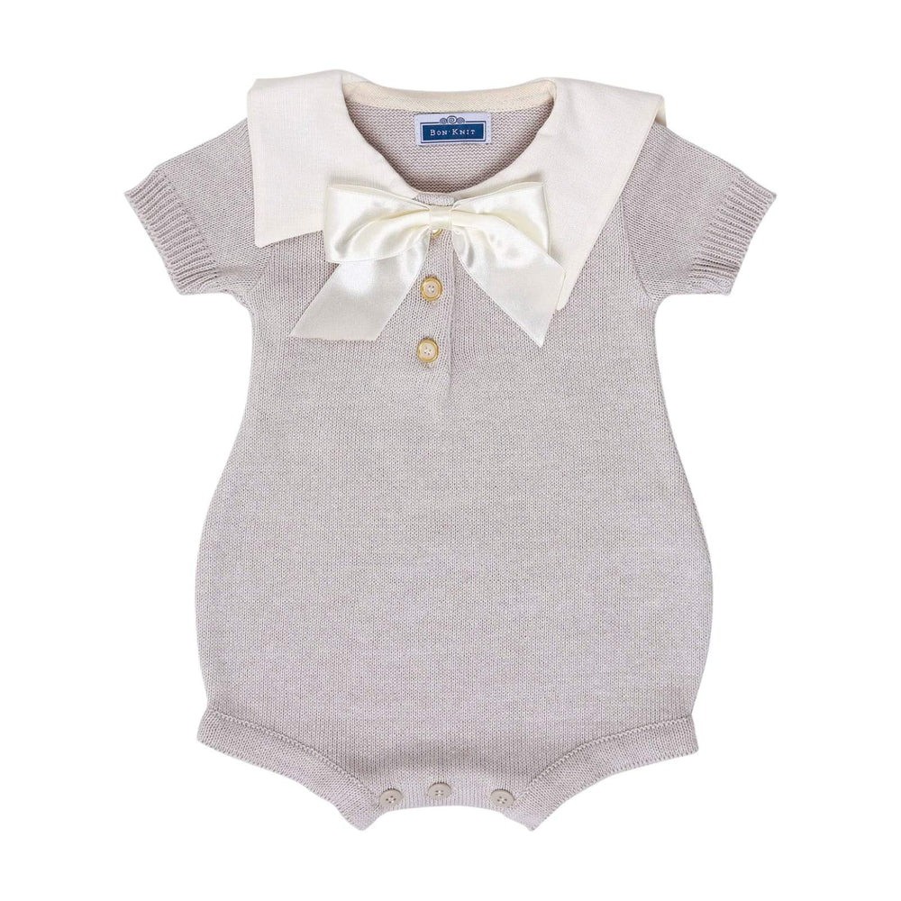 SS Archie Romper ~ Cloud Grey