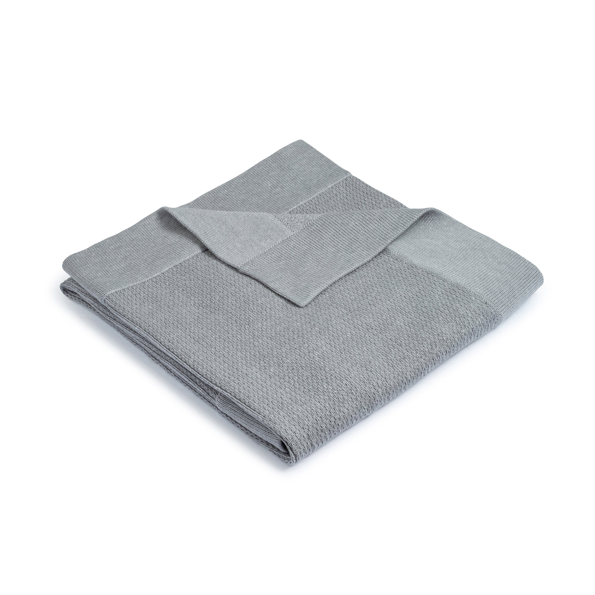 Ribbed Blanket ~ Grey