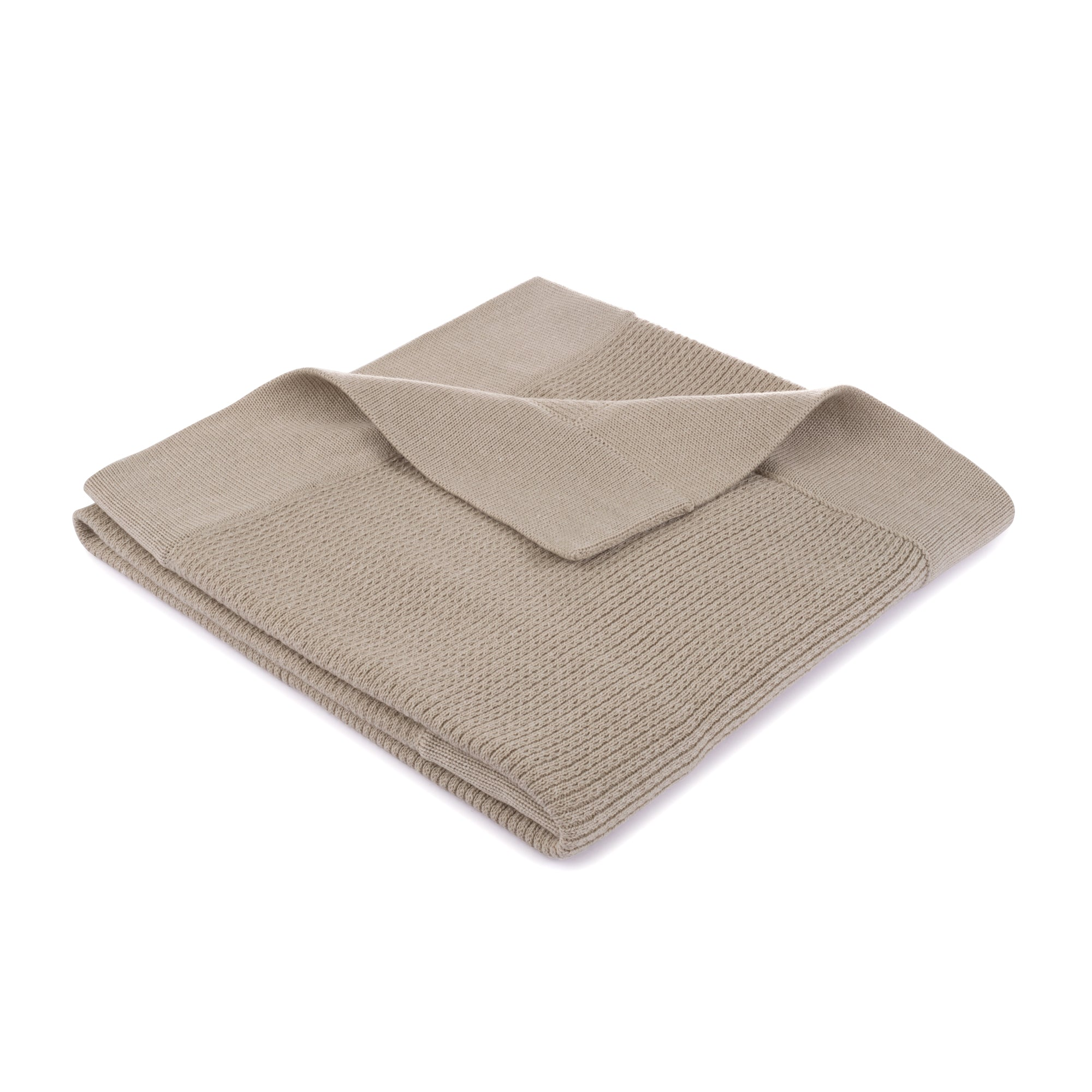 Ribbed Blanket ~ Sand
