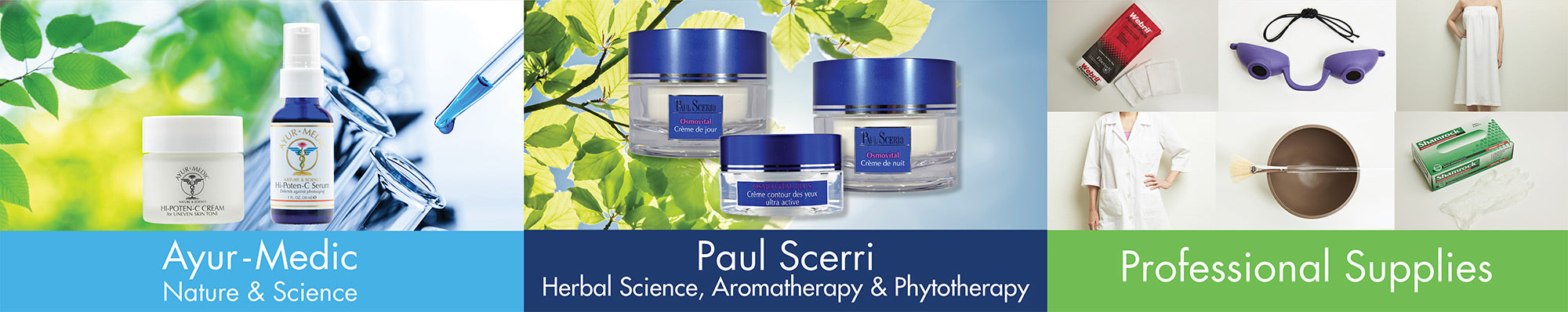 Aesthetics International products for skin care professionals