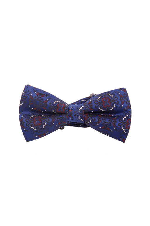 BOWTIE, BLUE FLOWERED