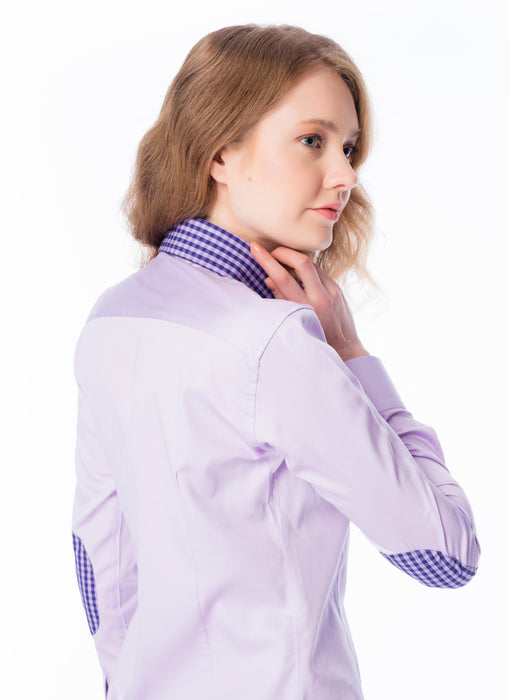 Blouse Dames lila/paars