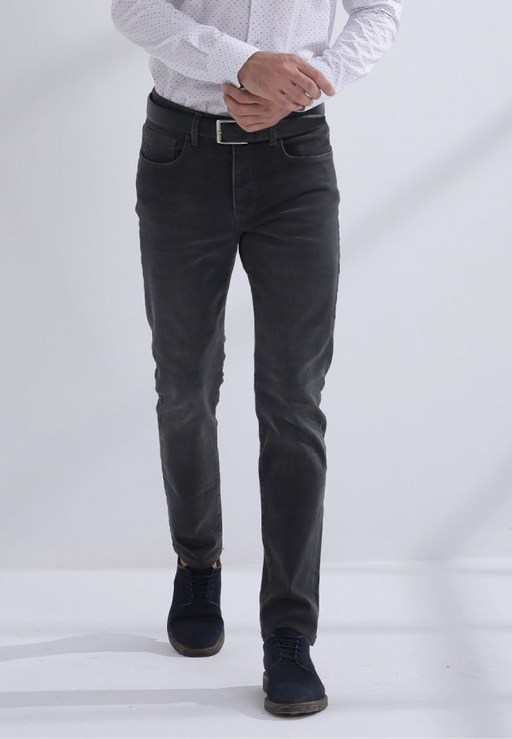 jeans heren shelton zwart slim