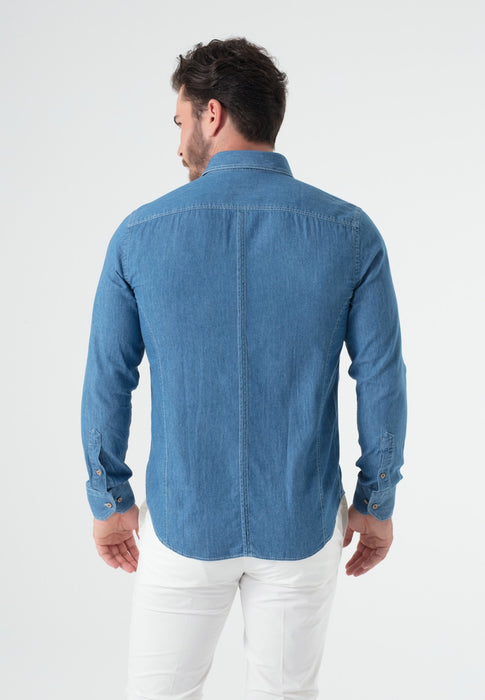 Overhemd Heren Denim