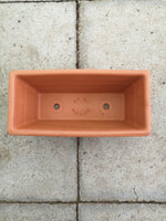 31cm Empty outdoor Premium Terracotta Trough