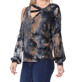 SOINA PRINTED TOP