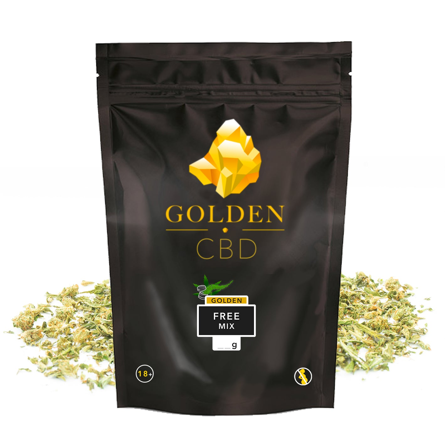 Golden Free Mix - CBD