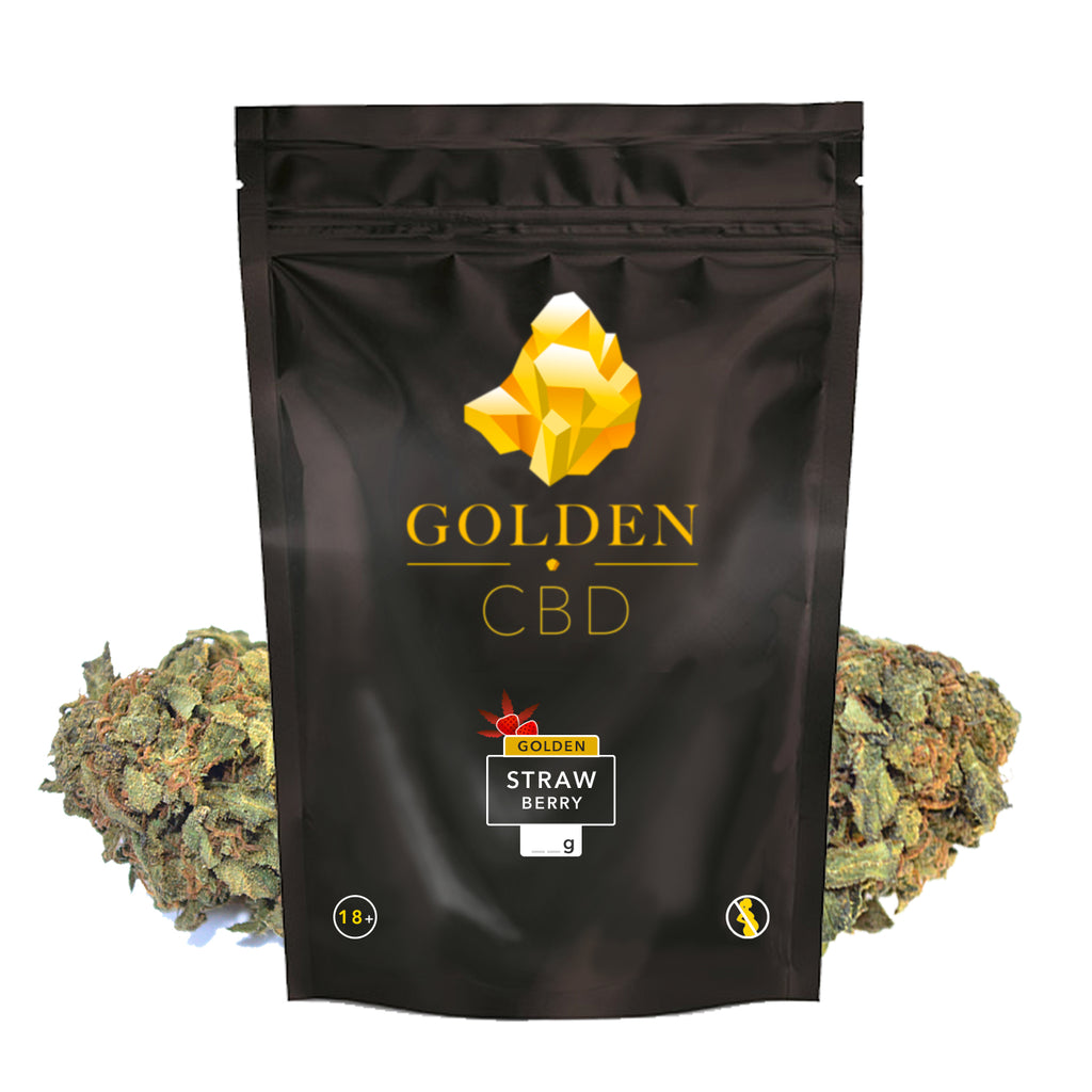 Golden Strawberry CBD