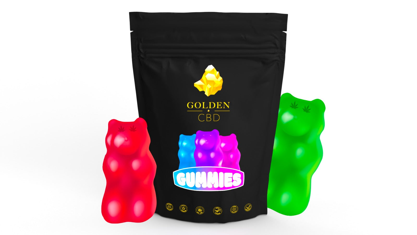 Gummies GoldenCBD CBD & MELATONINE