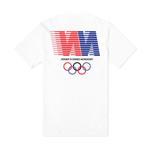 NN Games Organic Tee Shirt - Off White -
