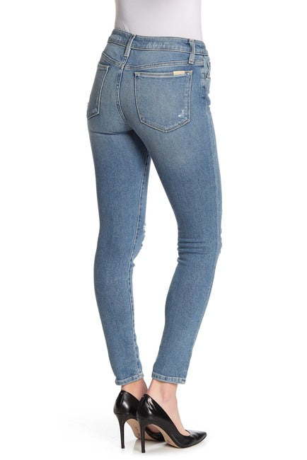 The Icon Mid Rise Skinny Ankle Jean