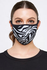 Load image into Gallery viewer, Face Masks Tribal/Zebra