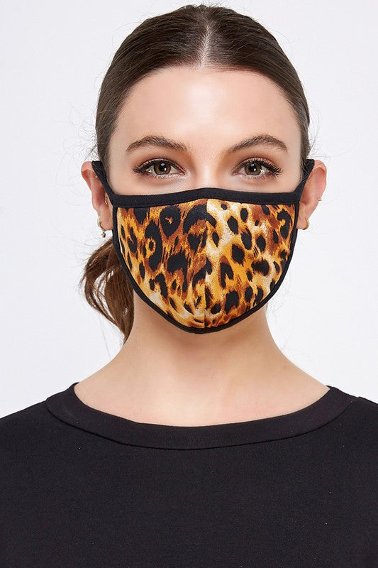 Face Masks Floral/Cheetah /Paisley