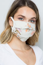 Load image into Gallery viewer, Face Masks Floral/Tie Dye Linen