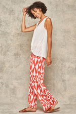 Load image into Gallery viewer, Coral Printed Lounge Pants