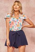 Load image into Gallery viewer, Floral Print Blouse