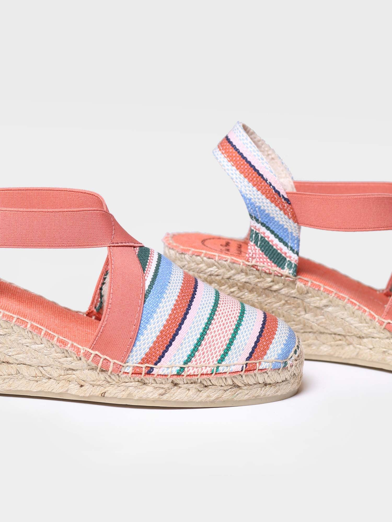 Tarbes Striped Espadrilles