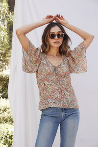 Marianne Floral Top