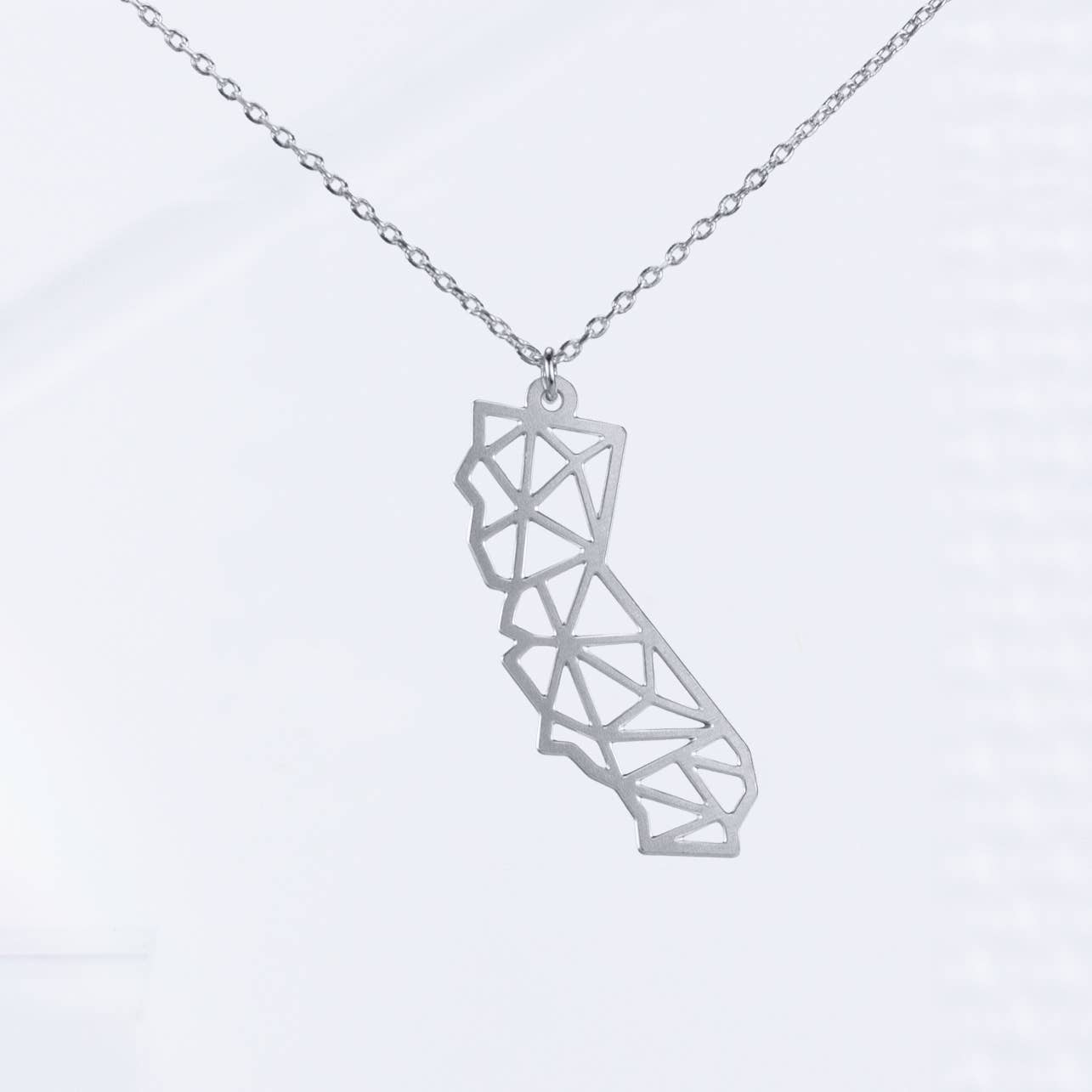 California Geometric Necklace
