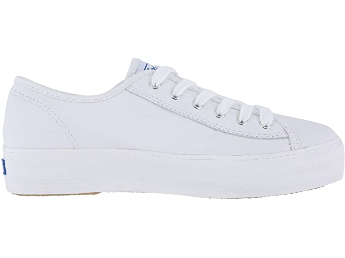 Triple Kick White Leather Sneaker