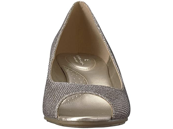 Candra Peep Toe Wedge