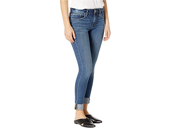 The Icon Mid Rise Skinny Crop Jean