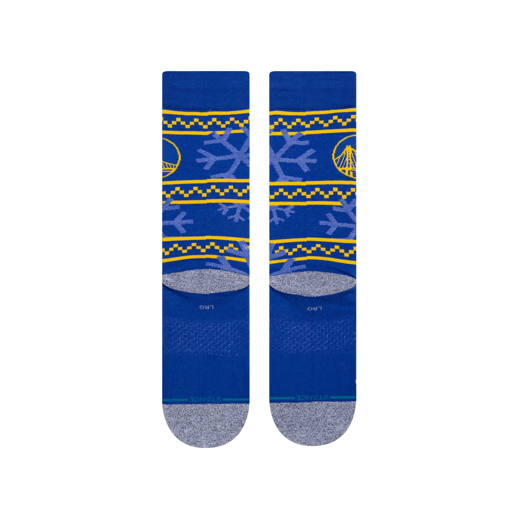 Golden State Frosted Men's Socks