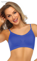 Load image into Gallery viewer, Coobie/Joy Bra Lace Trim V-neck Bra