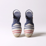 Load image into Gallery viewer, Tarbes Striped Espadrilles