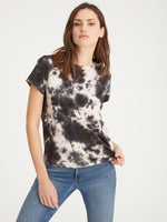 Load image into Gallery viewer, The Perfect Tee in Lotus Eco Natural Tie Dye