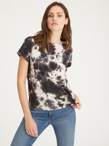 The Perfect Tee in Lotus Eco Natural Tie Dye