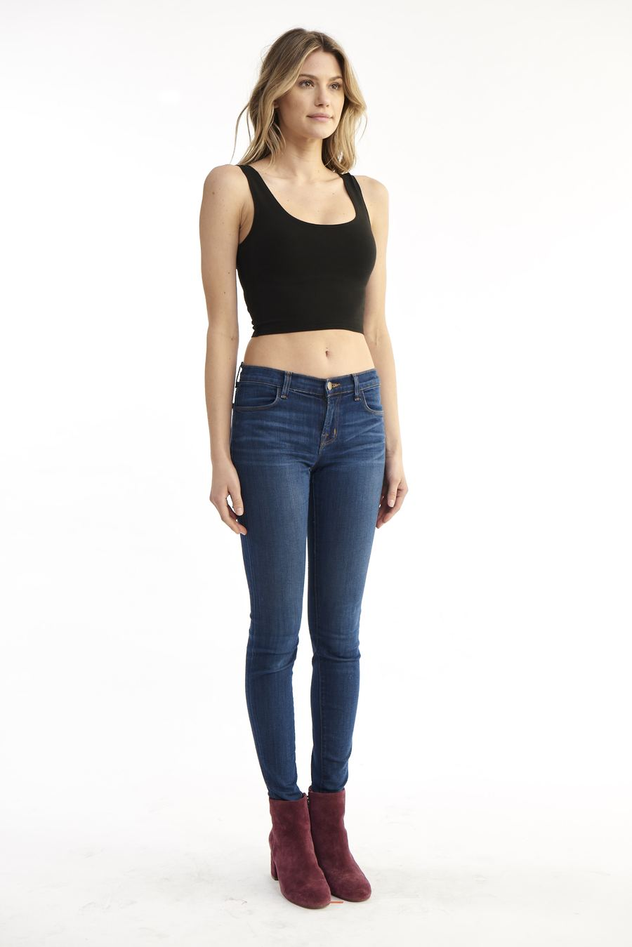 Fitted Crop Tank
