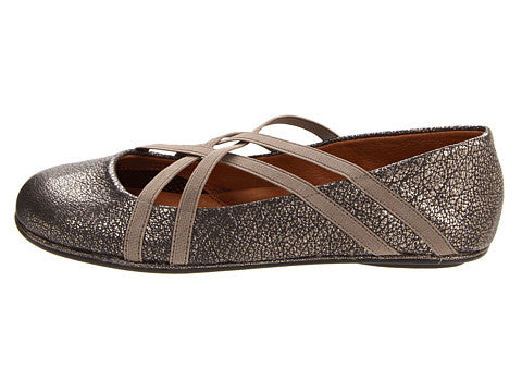 Bay Braid Flat - Black & Pewter