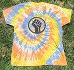 Load image into Gallery viewer, Black Lives Matter Tie-Dyed Shirt