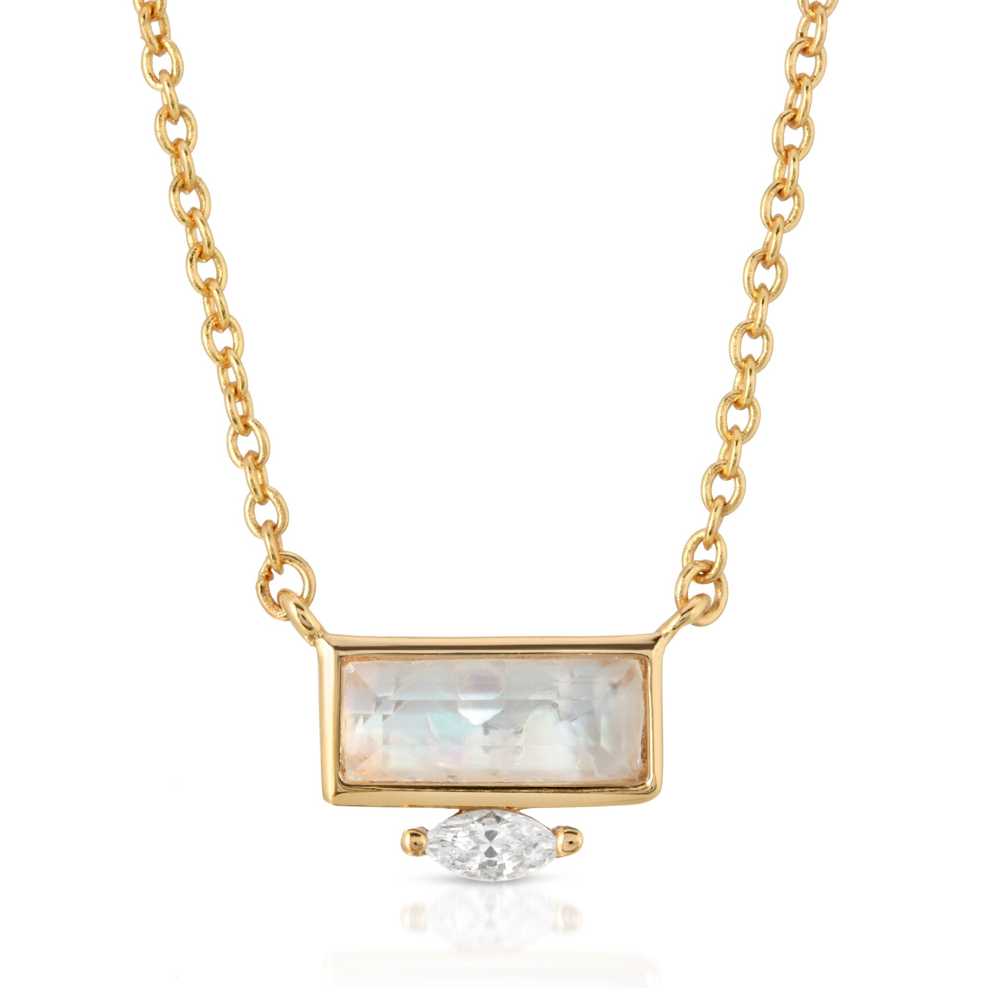 CZ Gem Necklace