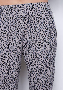 Iris Pant Winter Leopard