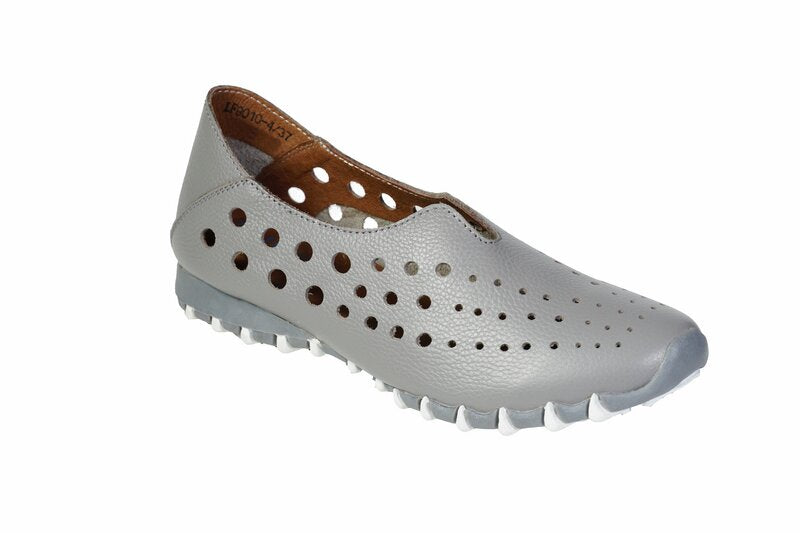 Slip-On Leather Walking Shoes