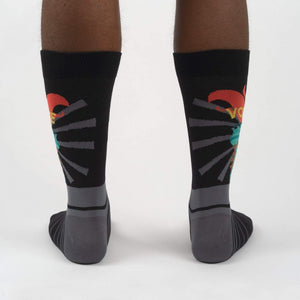 Liberty Enlights The World Men's Crew Socks