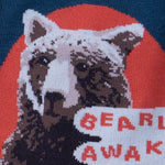 Load image into Gallery viewer, Bearly Awake Men's Crew Socks