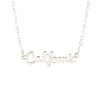 Load image into Gallery viewer, California Script Necklace