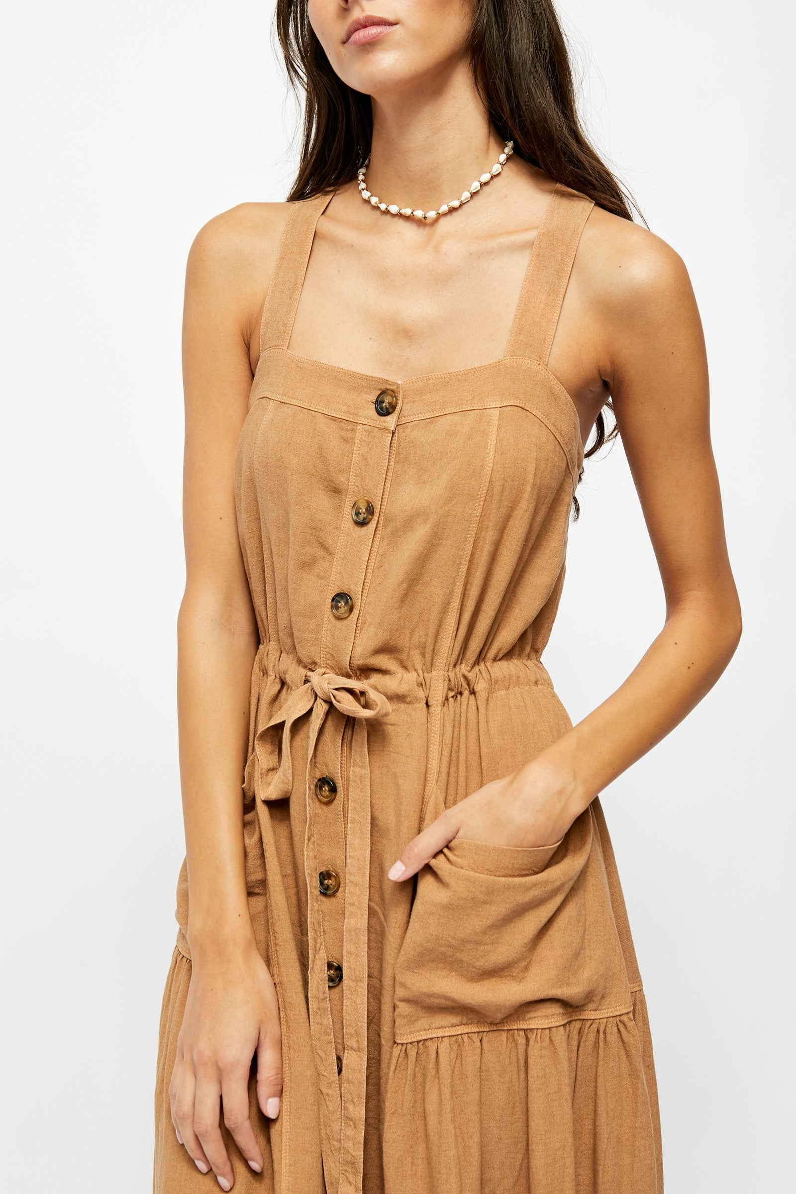 Catch the Breeze Midi Dress