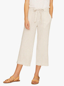Sasha Stripe Crop Pant