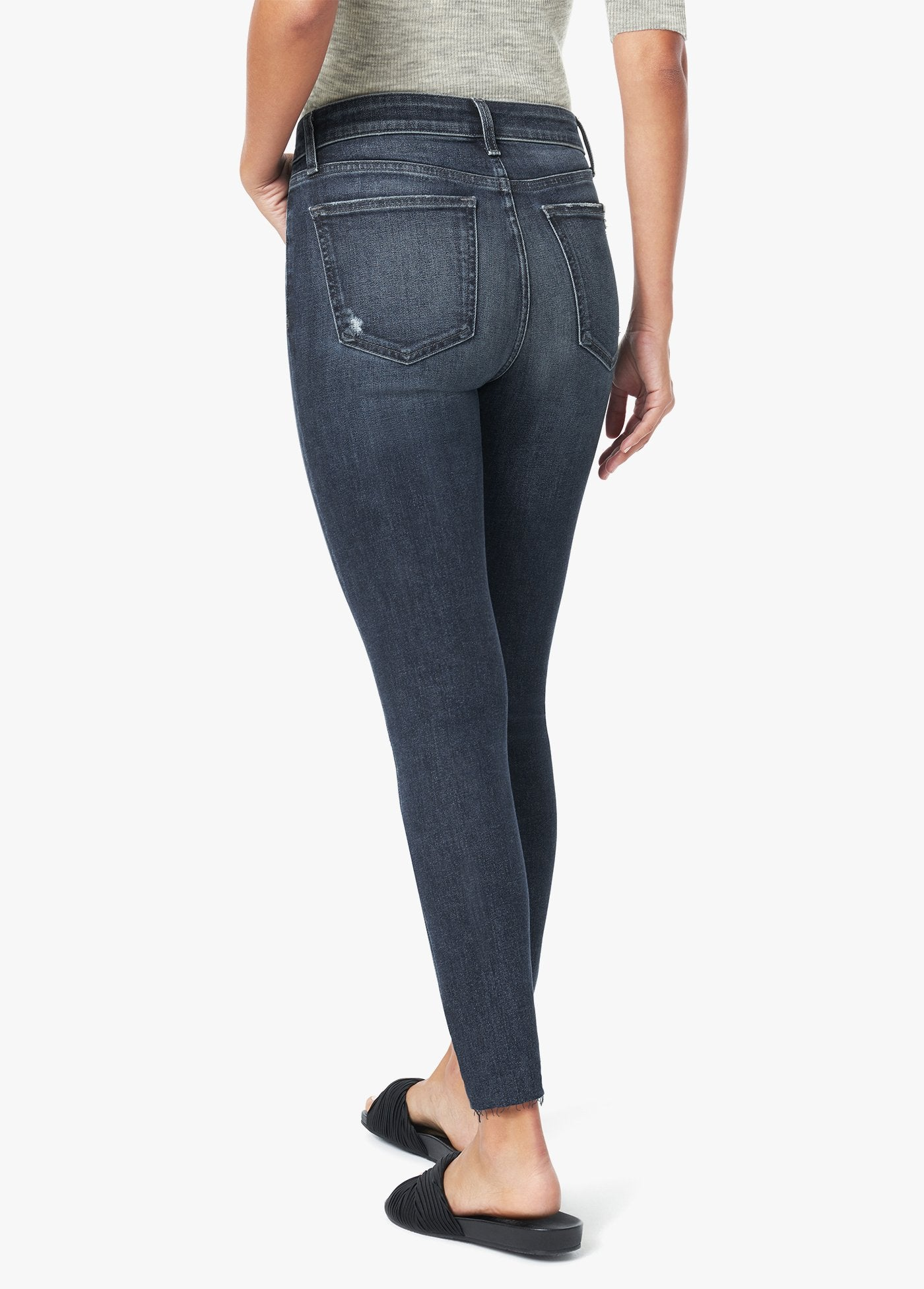The Charlie High Rise Skny Crop Jean