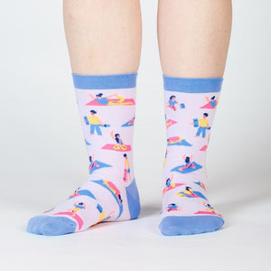 Pose Your Toes Women's Crew Socks